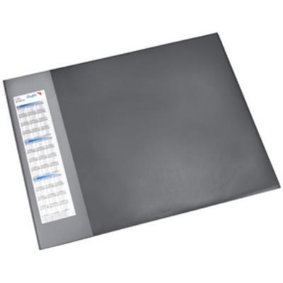 Läufer sous-main durella d1, 520 x 650 mm, noir lufer 41656