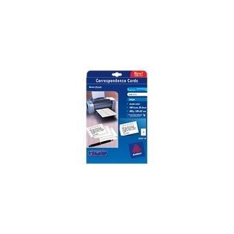 Avery Quick&Clean C2318 - cartes de visite - 100 carte(s) - Papier pour imprimante - Achat ...