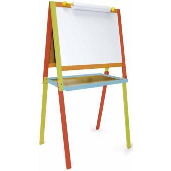 jeujura tableau dessin en bois arlequin tableau et pupitre enfant achat prix fnac. Black Bedroom Furniture Sets. Home Design Ideas