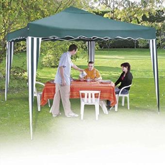 Provence Outillage 04052 Tente Pliable Avec Tonnelle Vert 3 X 3 M