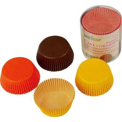 patisse 1728 cupcake en papier sulfurise dans une boîte transparentrosebleu 5 cm