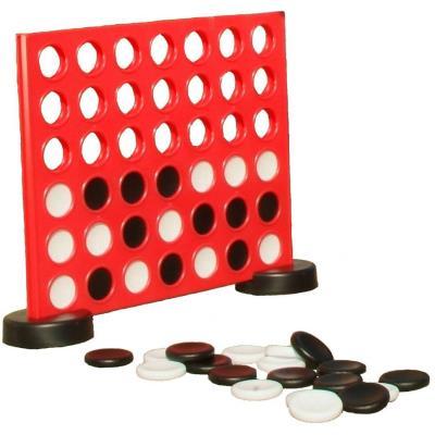 Puissance 4 est un jeu qui se joue à deux. Chaque joueur va successivement laisser tomber un pion de sa couleur dans une des colonnes, pour essayer de former un alignement de 4 pions, que ce soit en diagonale, verticalement ou horizontalement. Le jeu puis