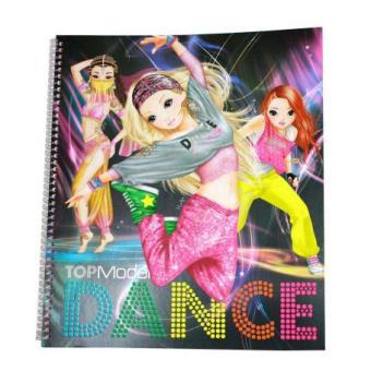 Album coloriage top model danse coloriage top prix fnac - Album de coloriage top model ...