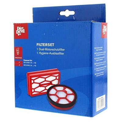 Dirt devil 2220001 kit de 3 filtres pour aspirateur sans sac rebel 22
