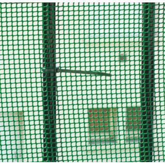 INTERMAS - Grillage plastique maille carrée Vert 1 x 3 m BALCONET