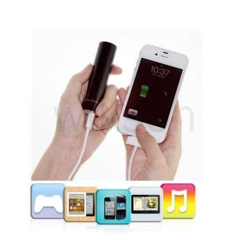 2600mah batterie externe chargeur de batterie externe pour iphone 5s 5c 5 4s 4 ipod. Black Bedroom Furniture Sets. Home Design Ideas