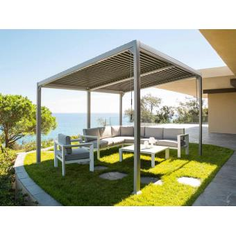 tonnelle de jardin avila 4 x 3 m mobilier de jardin. Black Bedroom Furniture Sets. Home Design Ideas