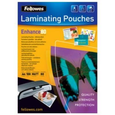Fellowes pochettes ... plastifier, autocollantes, a4, 250 mic 5328901