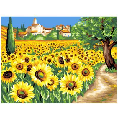 Peinture au numéro pour initiés : les tournesols oz international