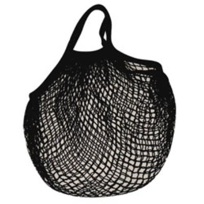 Sidebag filet coton noir 40 x 40