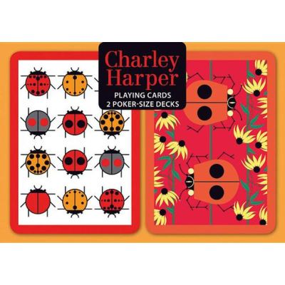 Charley Harper Poker Playing Cards - [Version Originale]