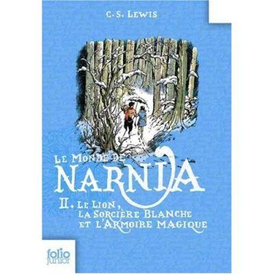 Les Chroniques De Narnia 2: Le Lion,LA Sociere Blanche & L'Amoire Magique (Folio Junior) - [Livre en VO]