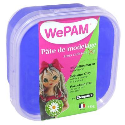 Porcelaine froide à modeler WePam 145 g - Bleu royal - WePam