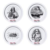 Set de 4 platos Star Wars - Join The Dark Side