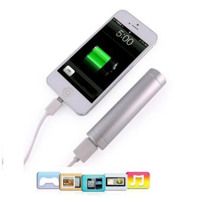 2600mAh Batterie externe Chargeur de batterie externe pour iphone