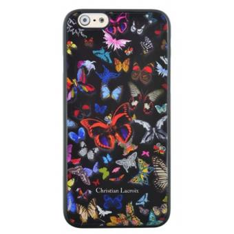 iPhone 6 6S Coque Christian Lacroix Butterfly Parade Noir