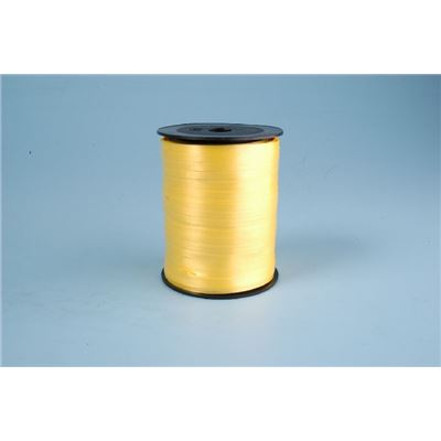 Ruban Curl 500mx5mm - jaune