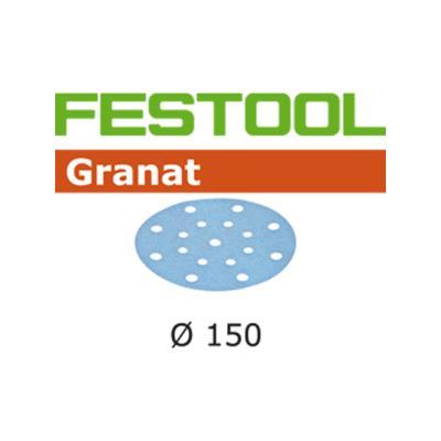 Lot De 100 Abrasifs Stickfix Ø150Mm Pour Enduits, Apprêts, Peintures À Faible Teneur En Cov Stf D150/16P150Gr/100 Festool 496980