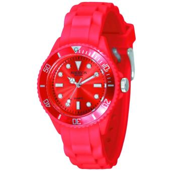 7043f3f12aa0a Montre Madison Candy Mini SL4167R - Montre Silicone Rouge Femme - Montre  Femme - Achat & prix | fnac
