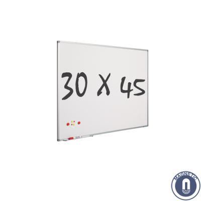 Tableau blanc 30 x 45 cm - magnétique