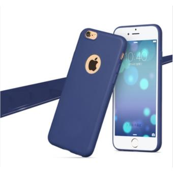 iphone 6 plus coque silicone bleu