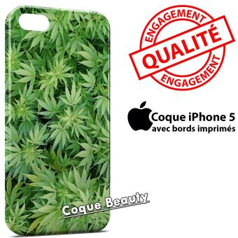 coque iphone 5 cannabis