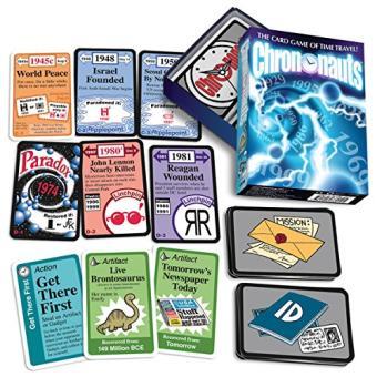 Chrononauts jeu de carte