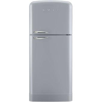 refrigerateur congelateur en haut smeg fab50rsv achat. Black Bedroom Furniture Sets. Home Design Ideas