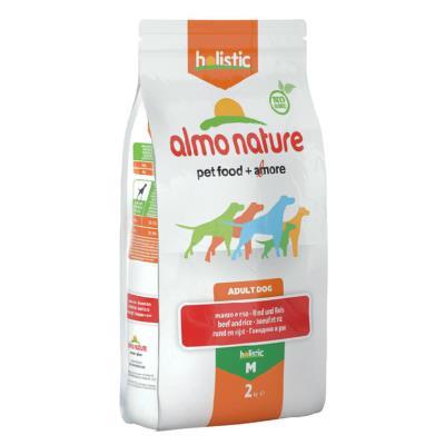 Almo Nature Chien Holistic Medium Boeuf et riz 2 kg