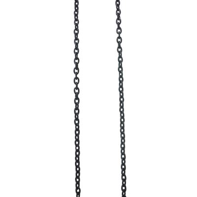 Chaîne petite maille noire à2mm - graine créative