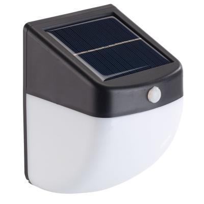 Balise / applique solaire LED 1 W avec détecteur de mouvement