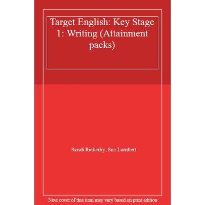 Target English: Key Stage 1: Writing (Attainment packs) - [Livre en VO]