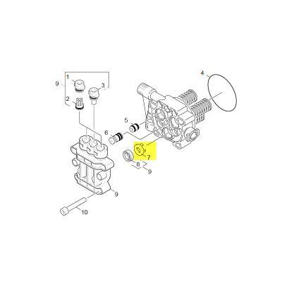 Karcher Rondelle Pour Nettoyeur Haute-pression Ref: 90360830