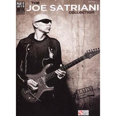 Partitions variété pop rock CHERRY LANE SATRIANI JOE COLLECTION TAB Guitare tablatures