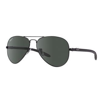f41ee457d05c6d Ray-ban aviator tech carbon fiber noir vert polarisé - medium-large -  Lunettes - Achat   prix   fnac