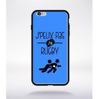 coque iphone 6 j'peux pas j'ai rugby