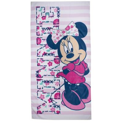 Serviette de bain Minnie Mouse Varsity Disney