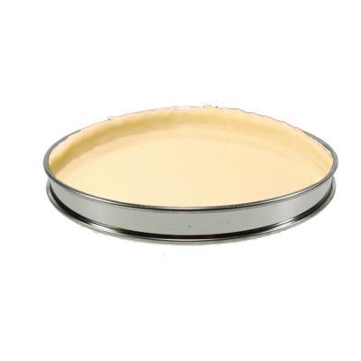 Gobel - Cercle à tarte sans fond bords roulés inox14 cm