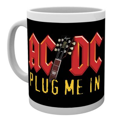 Tasse de ceramique AC/DC Plug Me In