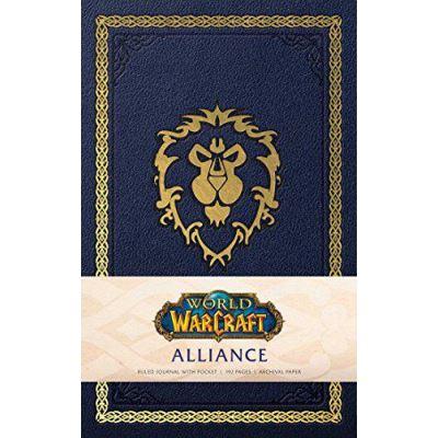 World Of Warcraft: Alliance Hardcover Ruled Journal - [Version Originale]