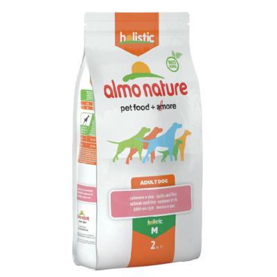 Almo Nature Chien Holistic Medium Saumon et riz 2 kg