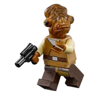 figurine lego star wars admiral ackbar achat prix. Black Bedroom Furniture Sets. Home Design Ideas