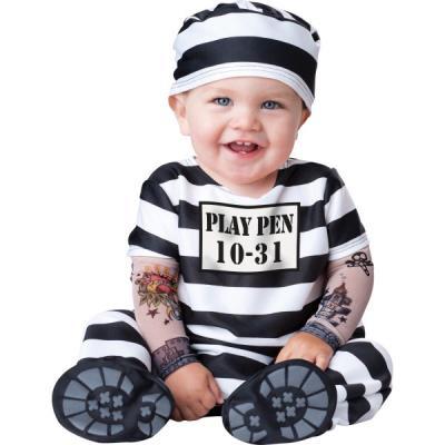 Déguisement de prisonnier pour bébé - 18-24 mois