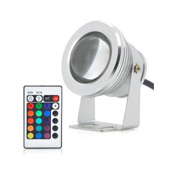 Projecteur Luminaire Exterieur Etanche Led 10w Changement De Couleur