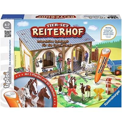Ravensburger spieleverlag 00707 - tiptoi tier-set reiterhof