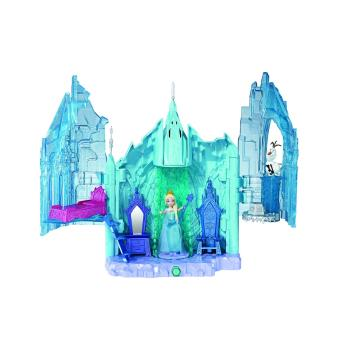 Princesses disney bdk38 maison de poup e la reine for Chateau la reine des neiges