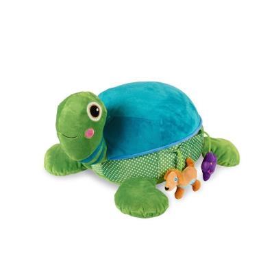 Oops peluche géante a câliner tortue - soft friend cookie - 55 cm