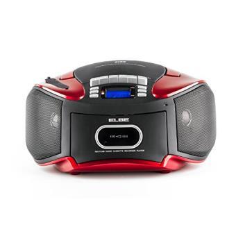 elbe cdm 265 usb poste radio cassette avec lecteur cd mp3. Black Bedroom Furniture Sets. Home Design Ideas