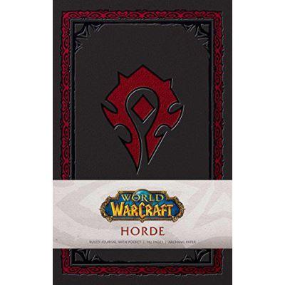 World Of Warcraft: Horde Hardcover Ruled Journal (World of Warcraft Ruled Journl) - [Version Originale]
