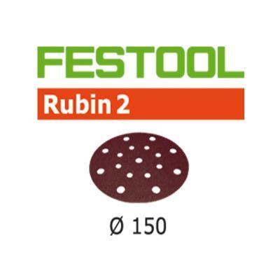 Lot De 10 Abrasifs Stickfix Ø150Mm Pour Bois Stf D150/16 P100 Ru2/10 Festool 499112